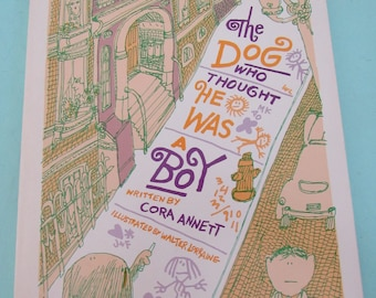 The Dog Who Thought He Was a Boy by Cora Annett 1976 Paperback Free Shipping
