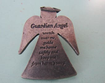 Vintage Treasures & Trinkets Guardian Angel Clip Free Shipping