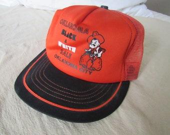 b4d1c23250b Vintage Oklahoma State Cowboys Snapback Snap Back Hat Trucker Free Shipping