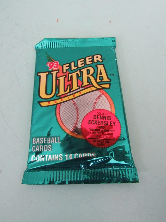 1993 Fleer Ultra Baseball Cards Unopened Pack Free Shipping