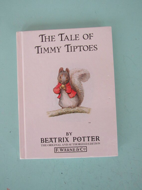 The Tale Of Timmy Tiptoes By Beatrix Potter F Warne Co Etsy