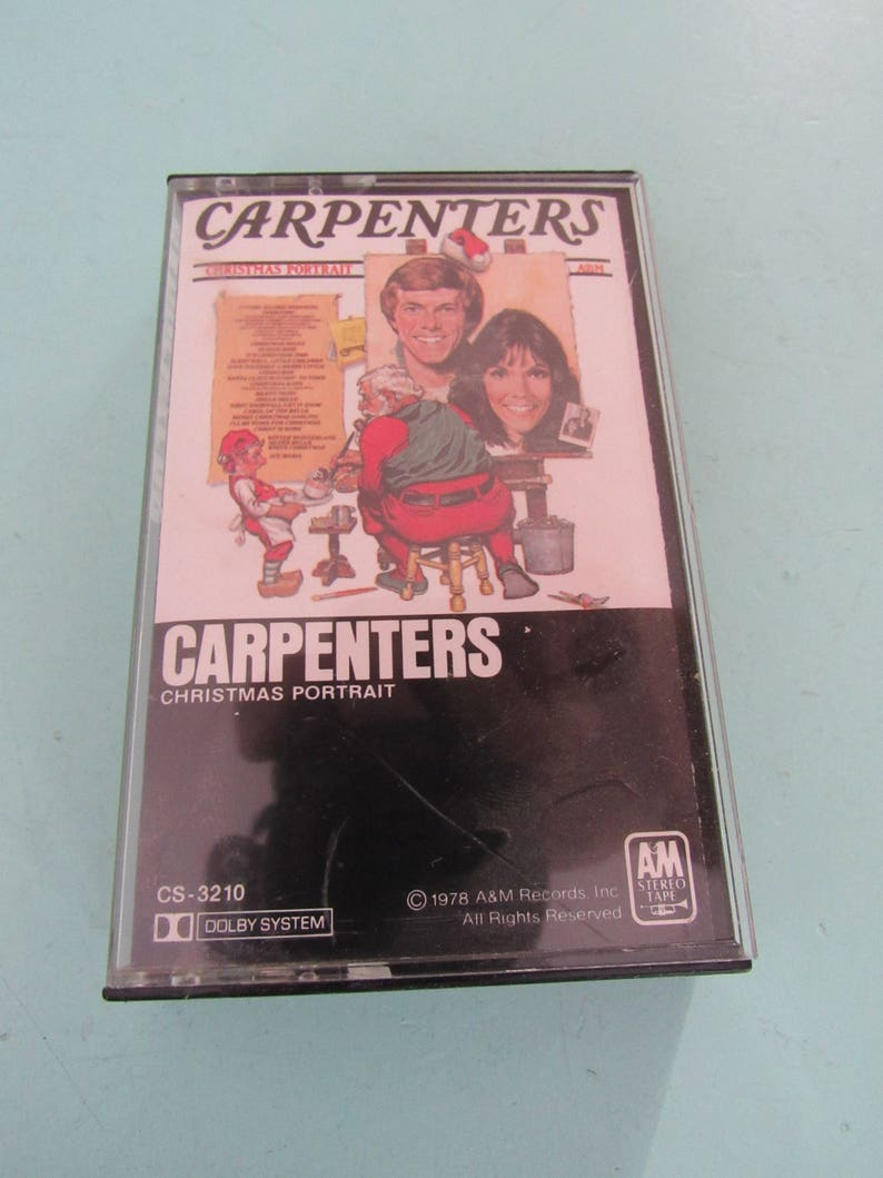 Carpenters Christmas Portrait.Carpenters Christmas Portrait Cassette Tape 1978 Free Shipping