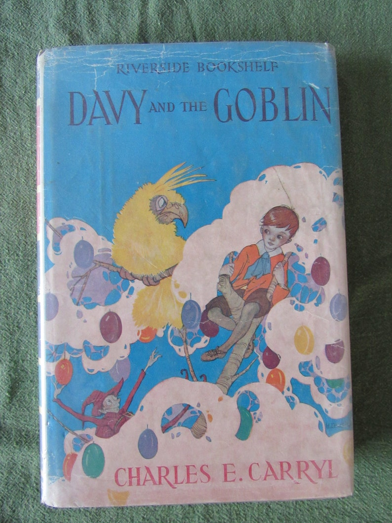 Davy and the Goblin by Charles E. Carryl 1928 Free Shipping image 0