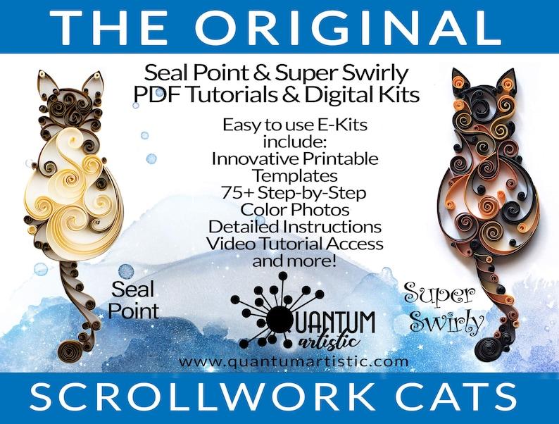 E-Kit 2-Pack  Original Seal Point PLUS Super Swirly Paper image 0