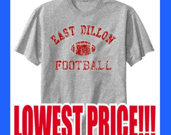 0dae411ef59 East Dillon Football Distressed worn out look. Friday Night Lights Heather  Gray T-Shirts