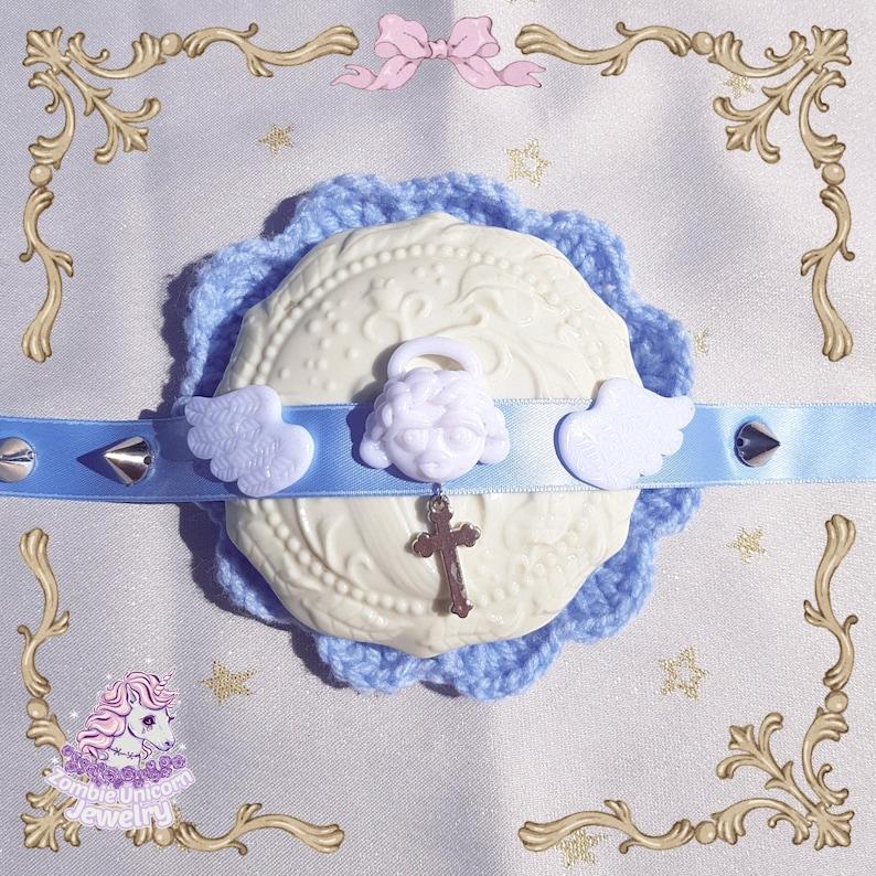 Guardian Angel choker pastel  angelcore  yumekawa