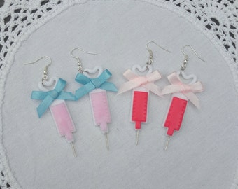Glitter Injection menhera yamikawaii earrings