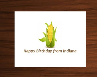 Happy Birthday From Happy Birthday Hawaiian Birthday Etsy