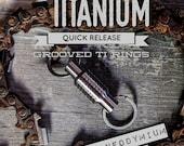 Ti break away, quick release Keychain