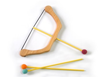Wooden Small BOW & Safe ARROWS