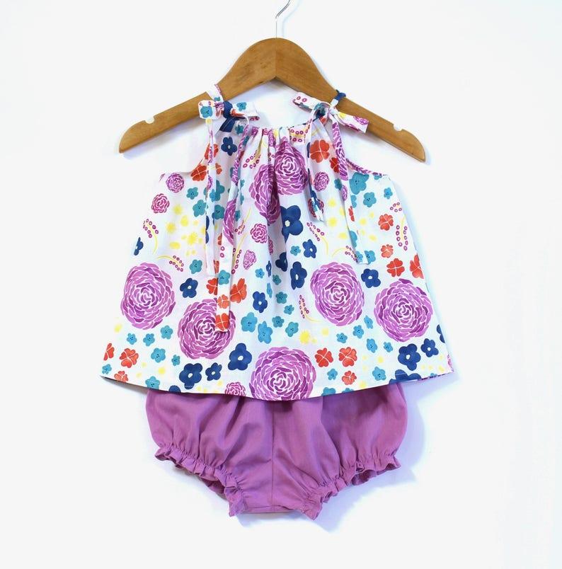 d92a7f3968f42 Tenue fille biologique pour bébé vêtements de bébé fille