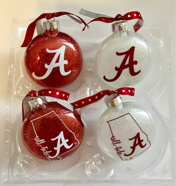 Alabama Christmas.Alabama Christmas Alabama Ornament Bama Roll Tide Christmas Ornament Crimson Tide Ornaments
