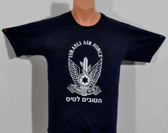 Israeli Air Force T-shirts High Quality 100% Cotton