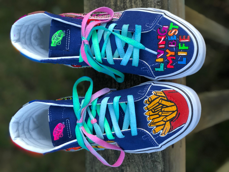 643c223148 Vans Sk8 Hi Pop Art