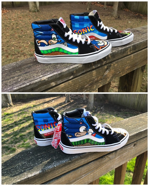 Blitz Custom Vans Old Skool Sneakers in 2020 | Vans shoes