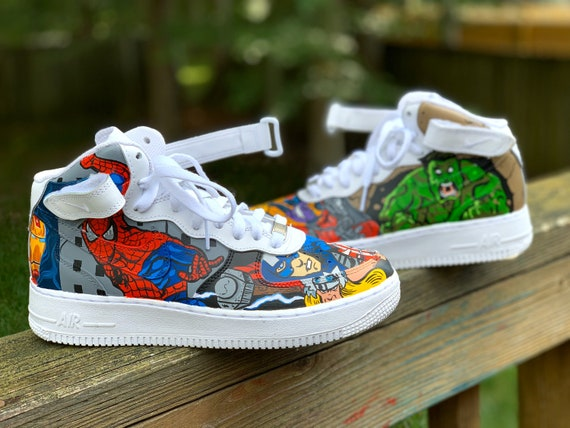 High/Mid Top Nike Air Force 1 Ones