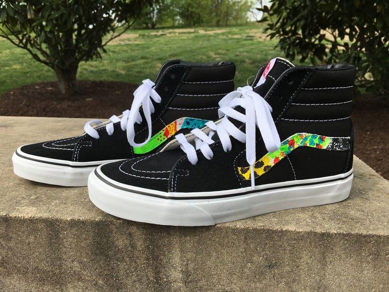 daa7055018 Vans Shoes Sk8 African Safari Custom