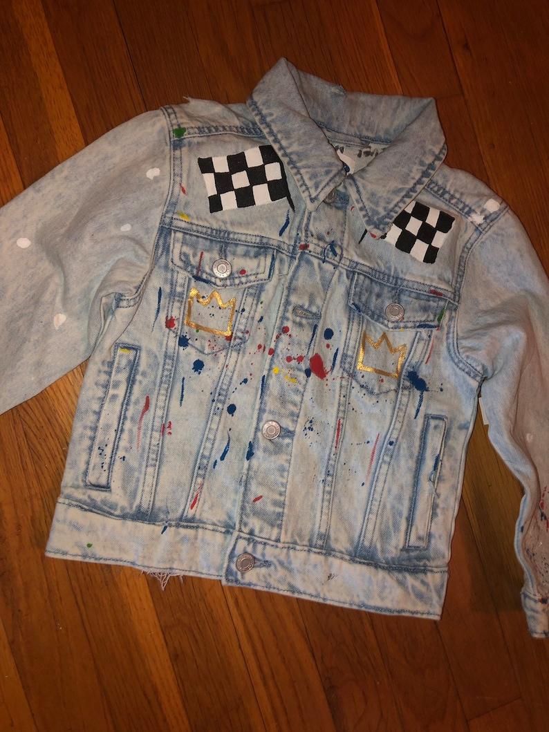 Children\u2019s Custom Denim Jackets
