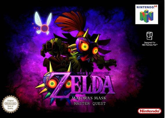 majoras mask n64 game