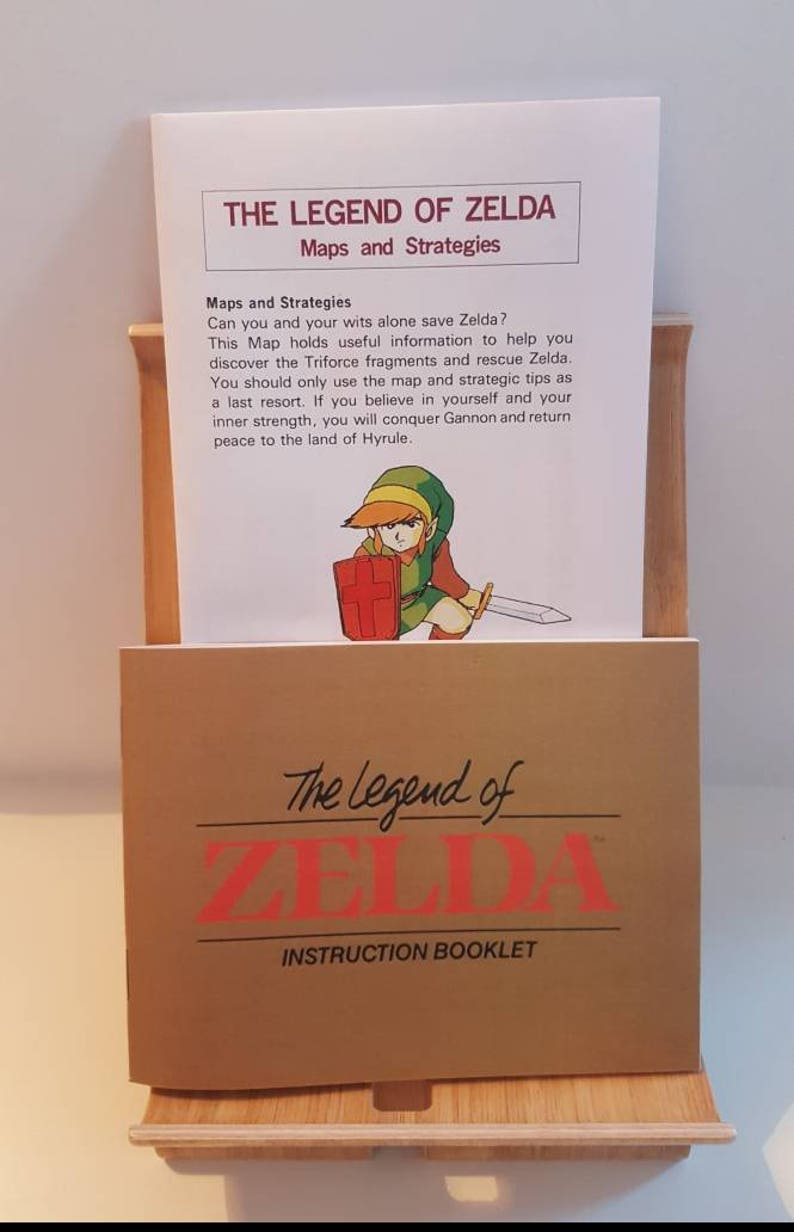 NES The Legend of Zelda - Replacement Manual