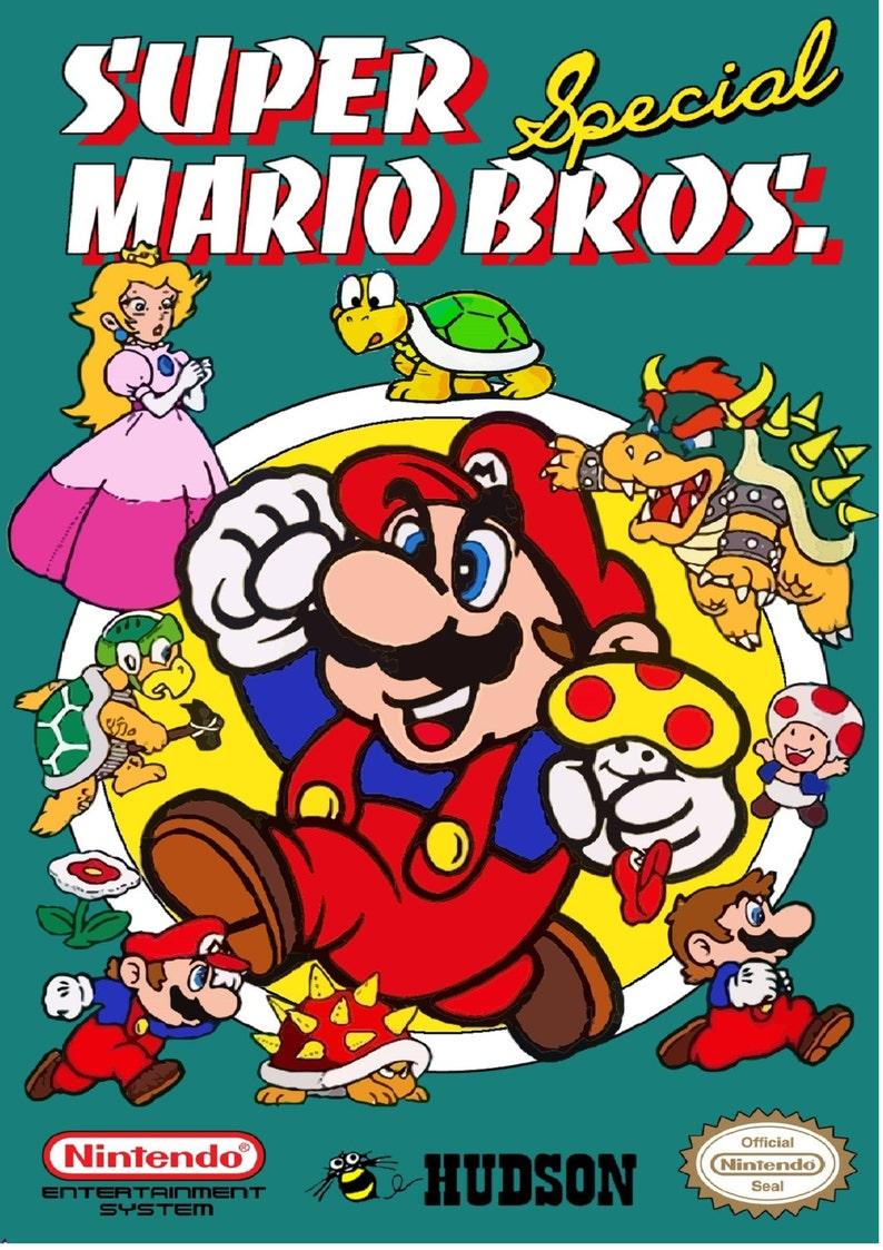 c626272e NES Super Mario Bros Special Custom Box NO Game Included | Etsy