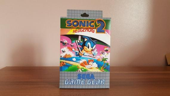 Sega Game Gear Sonic The Hedgehog 2 Repo Box No Game Etsy