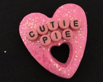 "Handmade ""Cutie Pie"" Badge"