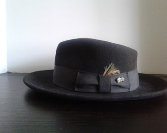 d74bc833a52 Vintage Bailey of Hollywood Gambler s Hat