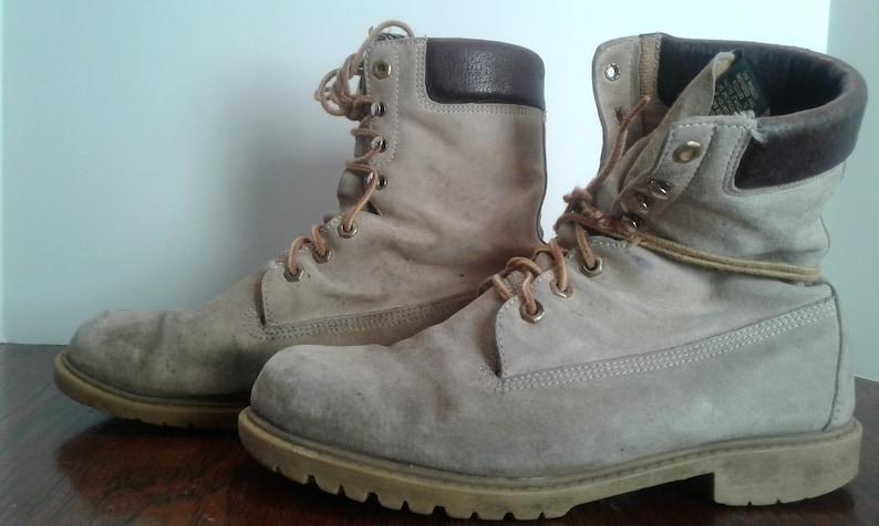 a9d362b37ec Vintage Blonde Wolverine Work Boots