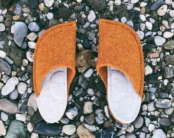 Orange and Cream White