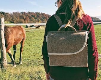 Tan Brown Backpack