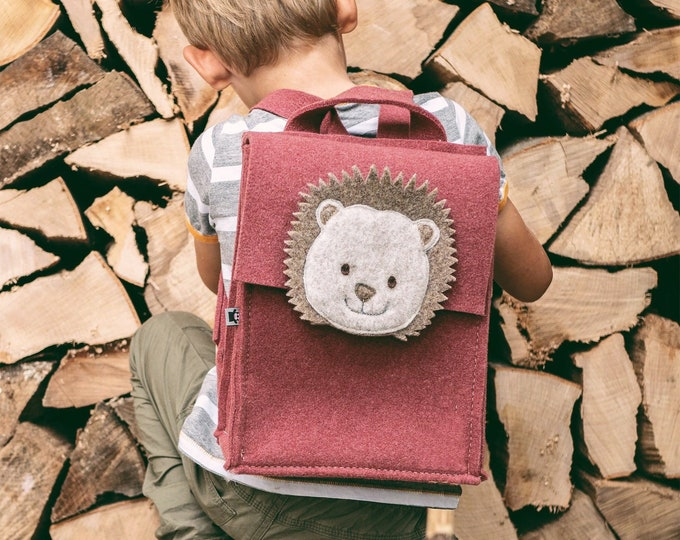 Light Burgundy Kids' Backpack