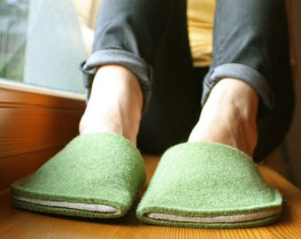 Japanese Slippers - Slippers for Women - Wool Slippers