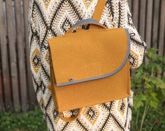 Curcuma Yellow Backpack