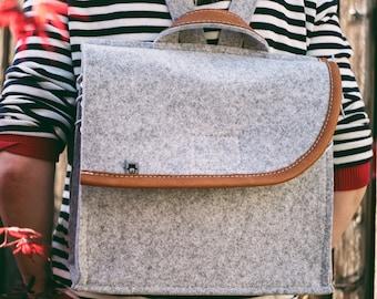 Light Gray Backpack