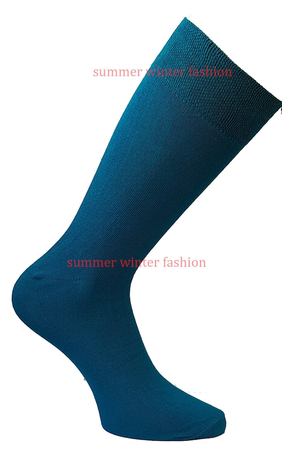 Men Women Patterned Colour Comfortable Soft Cotton Mid Calf Ankle Socks UK 6-11