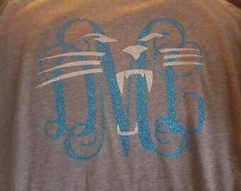 Carolina Panthers monogrammed shirt