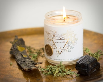 Earth Element Botanical Intention Candle