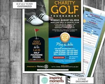 2066105cd4e Charity Golf Tournament Event Flyer Printable