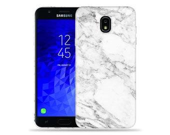 9da06a84004 For Samsung Galaxy J7 (2018) Case   Crown   J7 Refine Case   J7 V 2nd Gen    J7 Star   SM J737   SM-J720  Marble Design Hard Phone Case