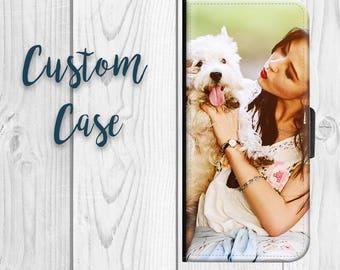 1a2a1414b2d52 iPhone 5 Wallet Custom Photo Case