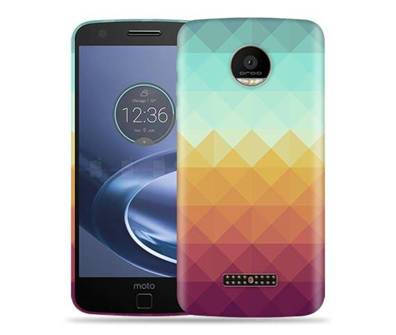 brand new fefef 50d05 Motorola Moto Z Play, Z Force Case - Moto Z Droid Case - XT1650 Case #Pixel  Waves Cool Design Hard Phone Case,Anniversary Gift,Birthday's