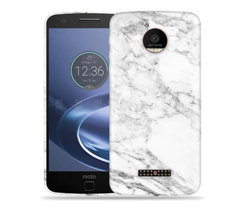 the best attitude 25c14 58f95 Motorola Moto Z Play, Z Force Case - Moto Z Droid Case - XT1650 Case  #Marble Cool Design Hard Phone Case,Anniversary Gift,Birthday's