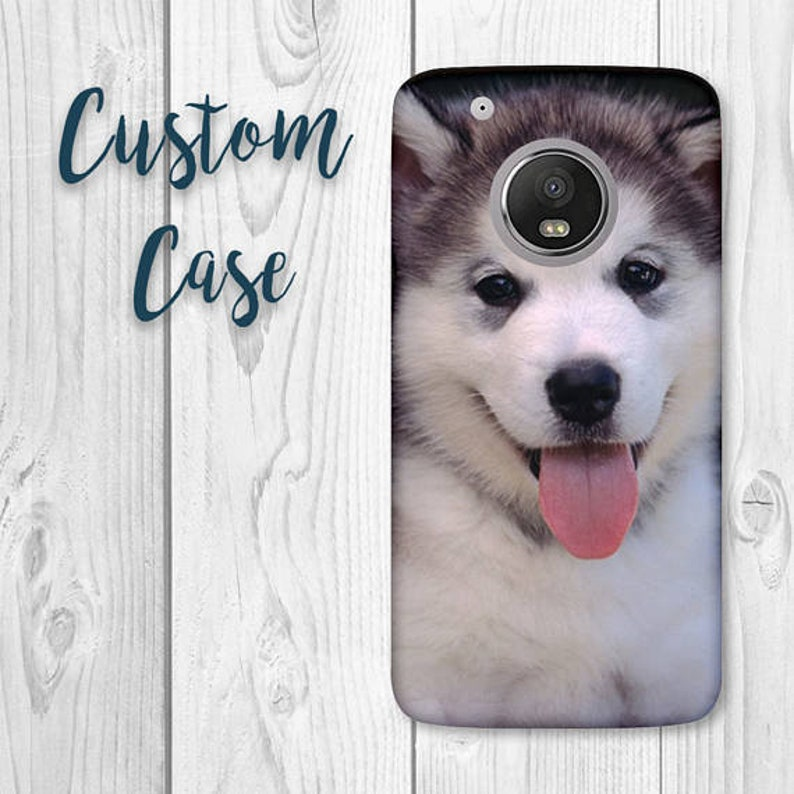 lowest price 6dae6 0a93d Motorola E5 Plus Case / Moto E5 + Case / Moto E Plus 5th Gen #Custom Photo  Case, Design Your Own Personalized Case, Monogrammed Phone