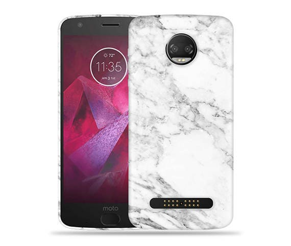 official photos 4aff5 279a8 Motorola Moto Z2 Play Case - Motorola Z2 Play Case #Marble Cool Design Hard  Phone Cover,Anniversary Gift,Birthday's