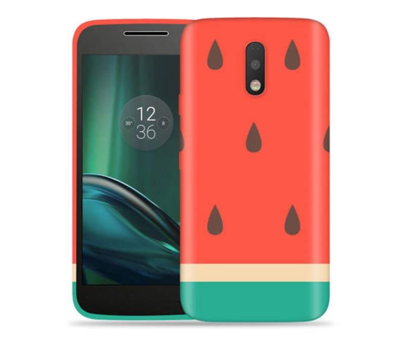 best loved b0d2c dee75 Motorola G4 Play Case - Moto G4 Play Case #Big Watermelon Cool Design Hard  Phone Cover,Anniversary Gift,Birthday's