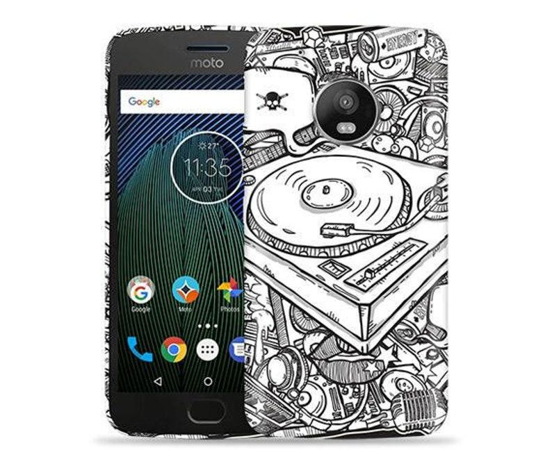 sale retailer 15e0b 09351 Motorola E5 Play Case / Moto E5 Cruise Case / Moto E Play 5th Gen Case #DJ  Design Hard Phone Case,Anniversary Gift,Birthday's
