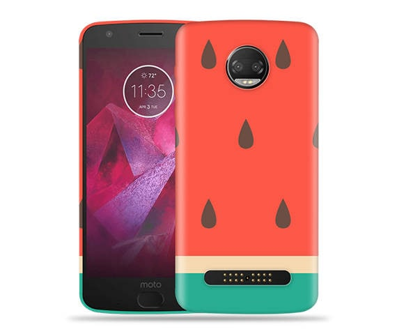 timeless design ff709 11785 Motorola Moto Z2 Play Case/ Moto Z2 Force Case- #Big Watermelon Up Cool  Design Hard Phone Cover,Anniversary Gift,Birthday's