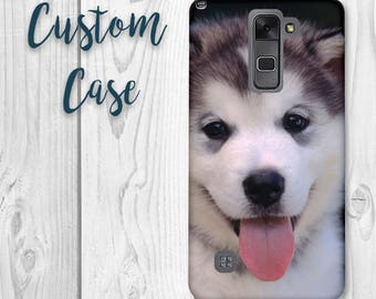 LG Stylo 2 / LG Stylus 2 / LG Stylo 2 Plus / Lg Stylo 2v Phone Case Custom Photo Case, Design Your Own Personalized Case, Monogrammed Phone