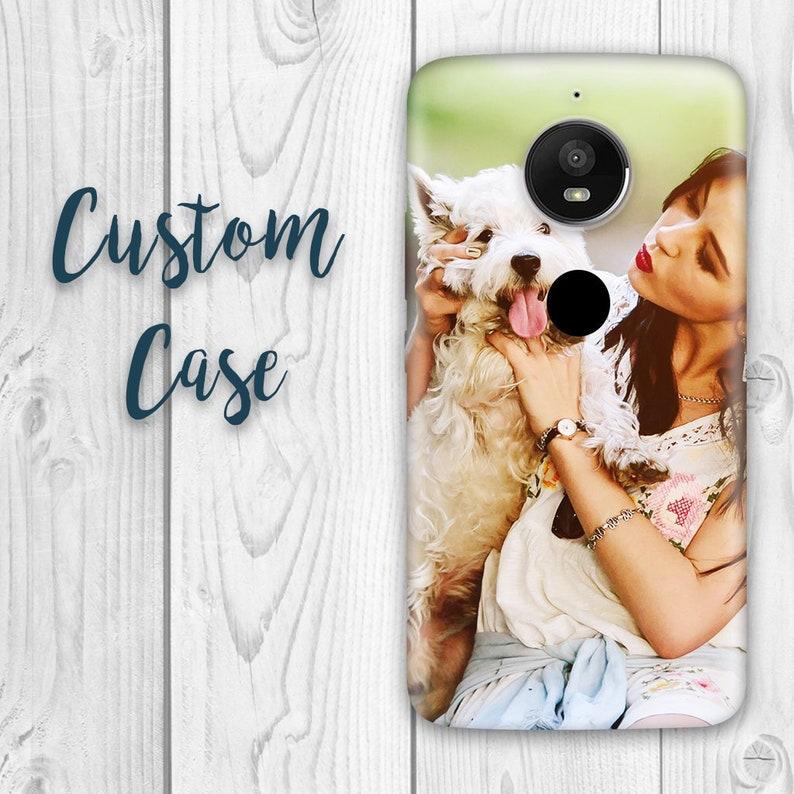 detailed look beb17 407fe Motorola E5 Play Case / Moto E5 Cruise Case / Moto E Play 5th Gen #Custom  Photo Case, Design Your Own Personalized Case, Monogrammed Phone